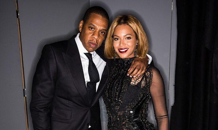 I cantanti Beyoncè e Jay-Z