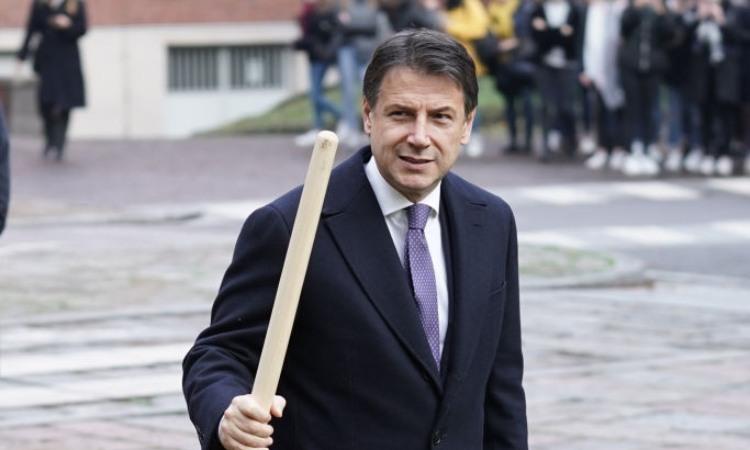 L'ex presidente del consigli Conte