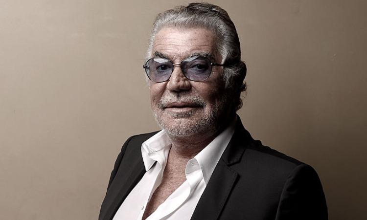 Roberto Cavalli con occhiali