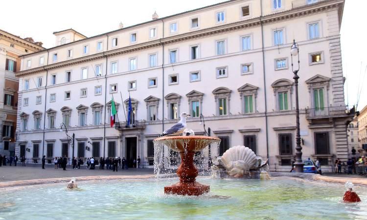 Il palazzo del governo italiano
