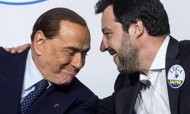 I leader di Forza Italia e Lega