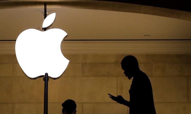 Simbolo con mela della Apple
