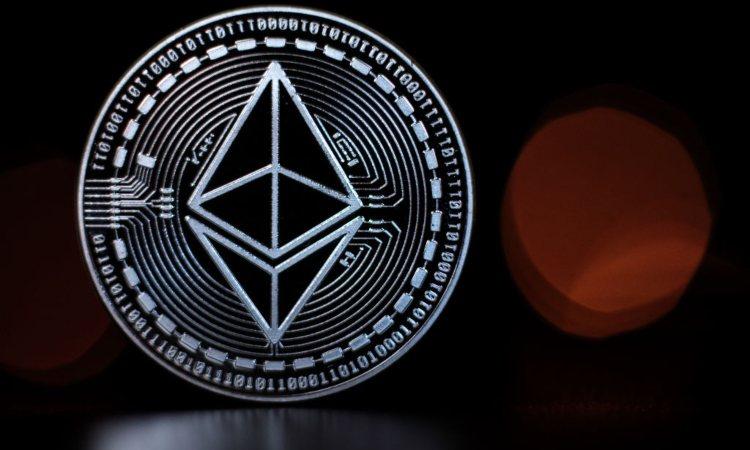 Simbolo della criptovaluta Eth