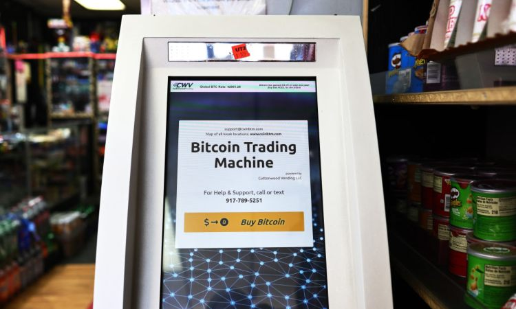 Una Bitcoin trading machine