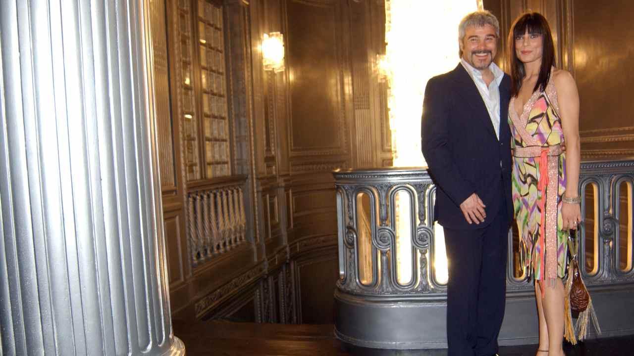 Pino Insegno e Roberta Lanfranchi