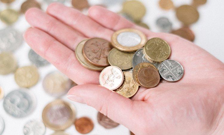 monete di metallo