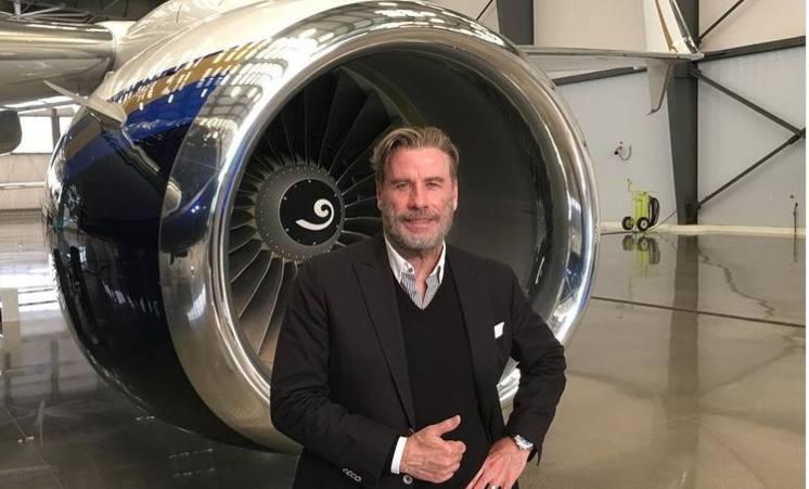 John Travolta e la passione per il volo