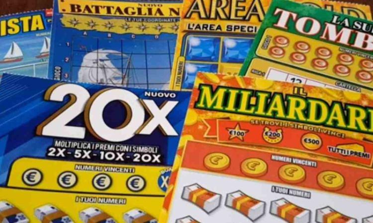 I gratta e vinci Miliardario e 20x in primo piano