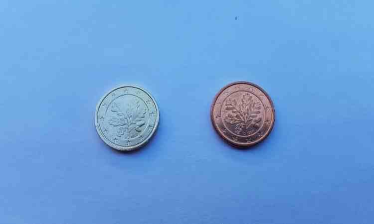 Confronto tra moneta rara e moneta normale