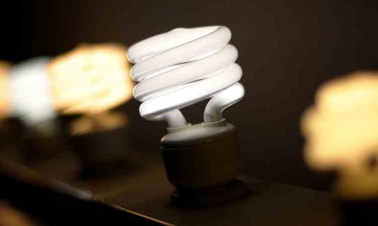 Lampadina per risparmio energetico