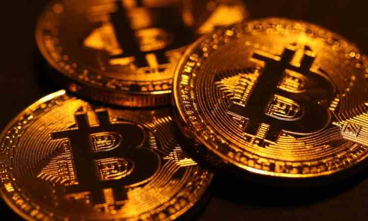 Monete in Bitcoin