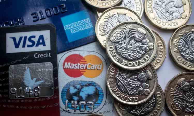 Monete e carte di credito