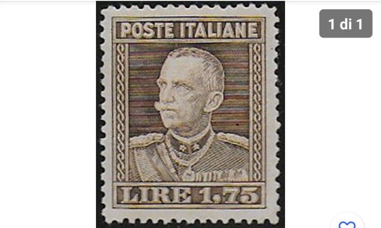 Il francobollo italiano valutato tantissimo