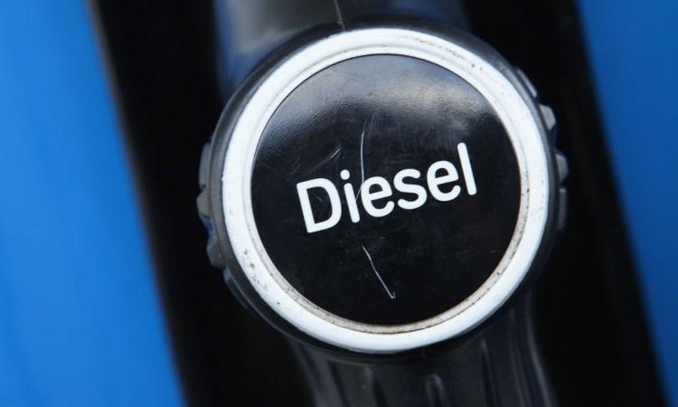 Il simbolo della benzina Diesel