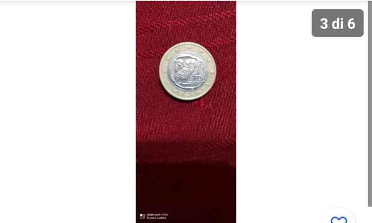 La moneta da un euro con un valore altissimo