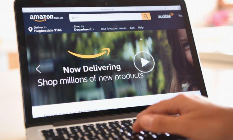 una pagina del sito di Amazon
