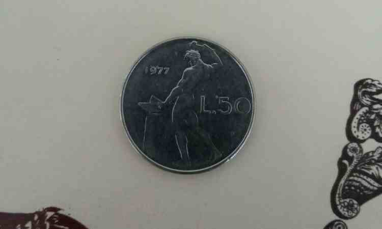 Moneta da 50 lire