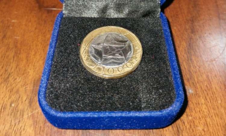 Moneta da Mille Lire 1997 con errore di conio