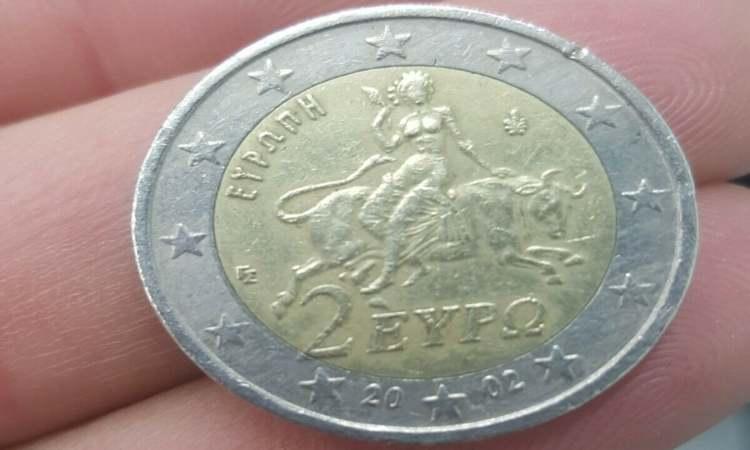 Moneta da due euro Grecia
