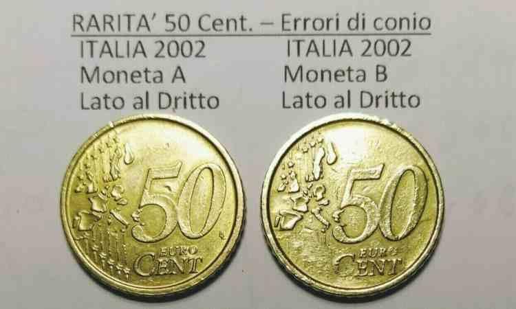 Moneta da 50 centesimi