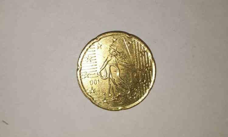Moneta rara Francia