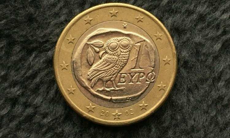 Moneta da un euro rara