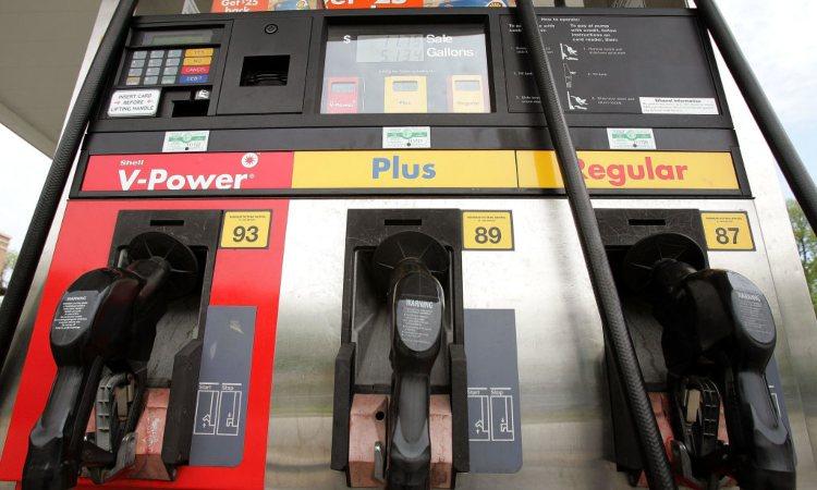 Alcuni tipi di benzina nelle aree di sosta