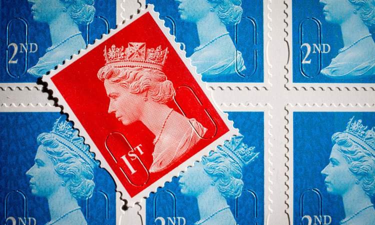 Un francobollo Bath England