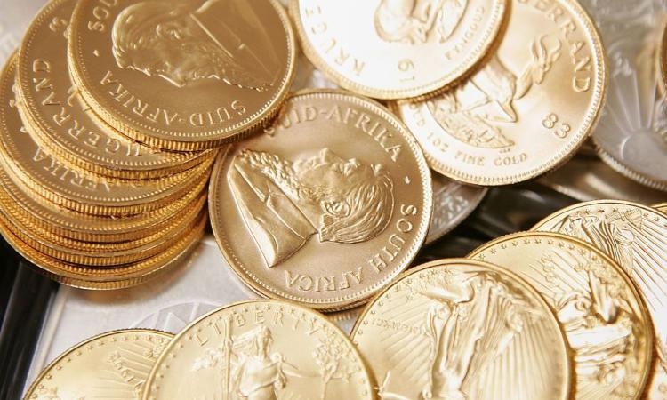 Alcune monete del Sud Africa