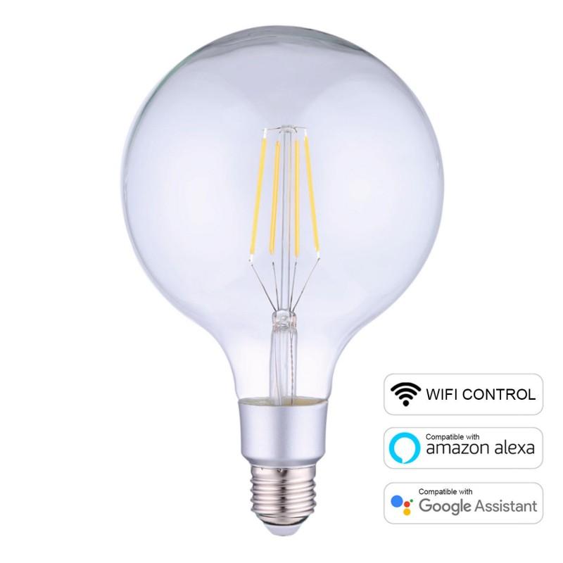 Una lampadina con opzione di utilizzo con il Wifi