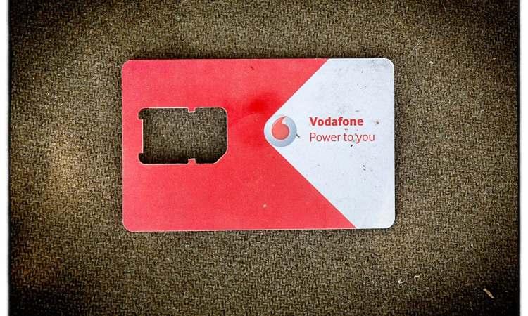 La scheda che contiene le sim card