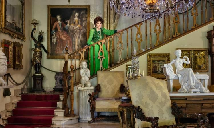 Gina Lollobrigida e la casa
