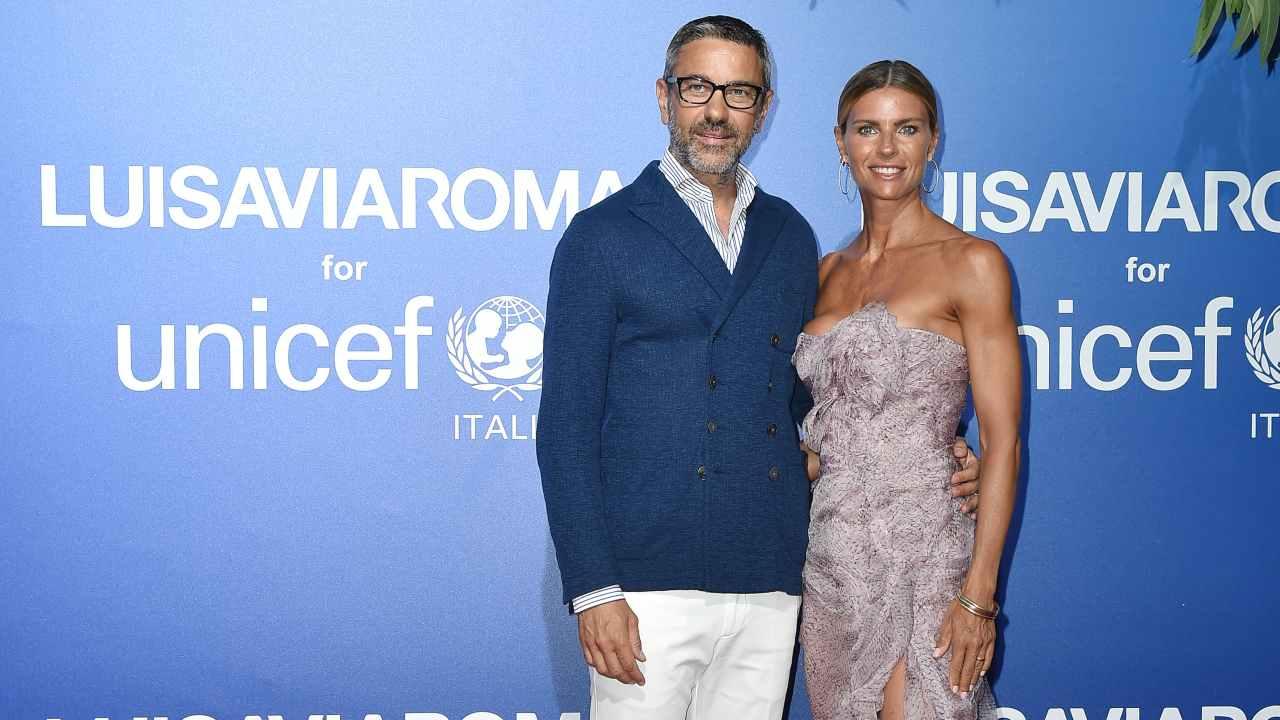 Martina Colombari e Alessandro Costacurta