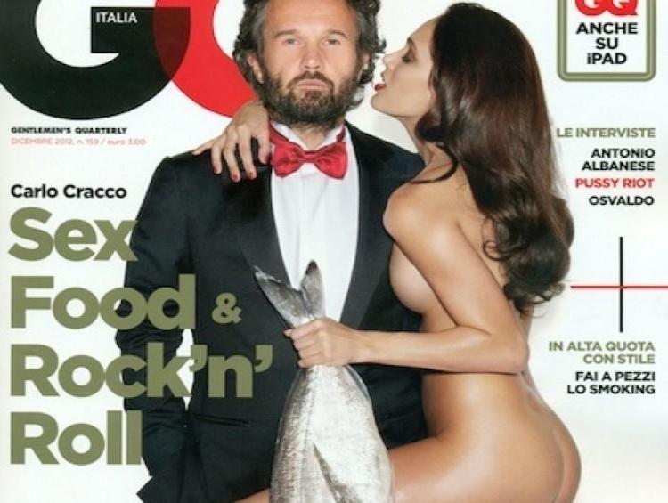 Carlo Cracco copertina GQ