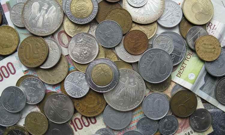 lire italiane e altre monete