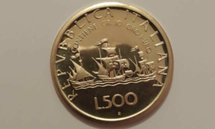 moneta 500 lire rara
