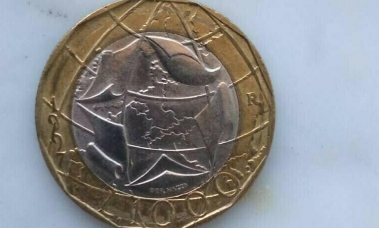 moneta da 1000 lire messa in vendita su eBay