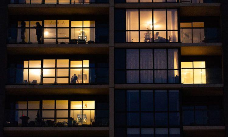 Alcune finestre di un palazzo