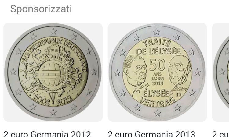 2 monete poco stimate