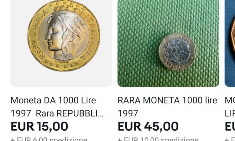 Due monete poco stimate