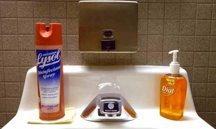 Disinfettante e sapone