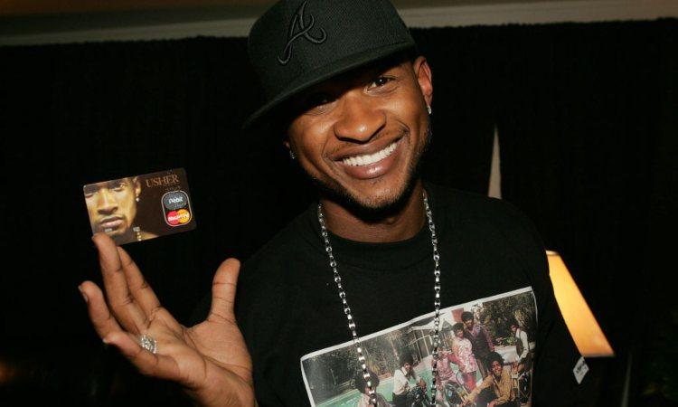 Il famoso cantautore Usher