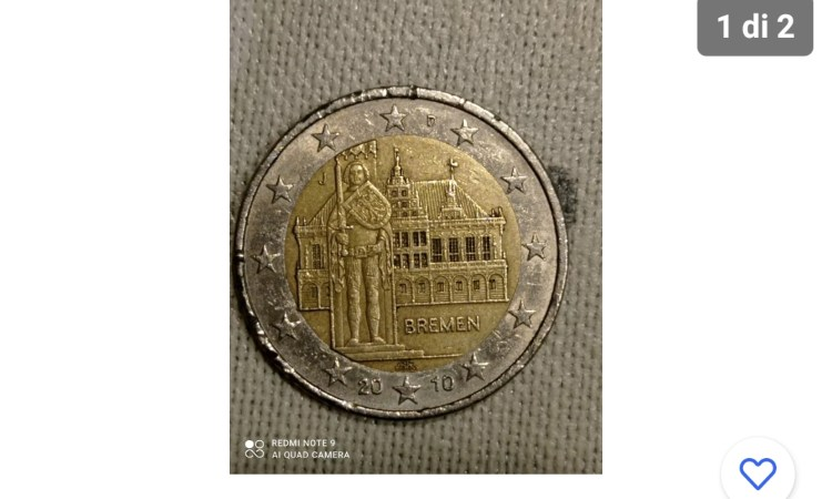 Una moneta rara con una stima altissima