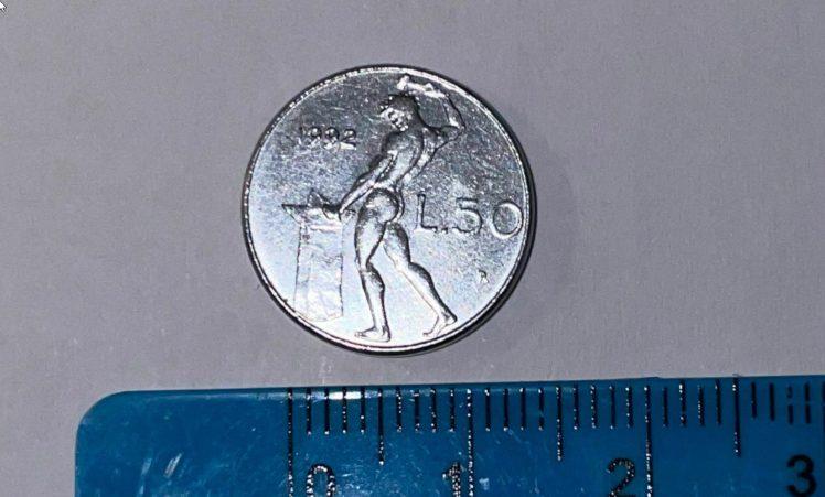 Moneta 50 Lire - 1992 - Circolata - Piccola _ eBay