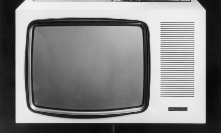 Un televisore degli anni passati