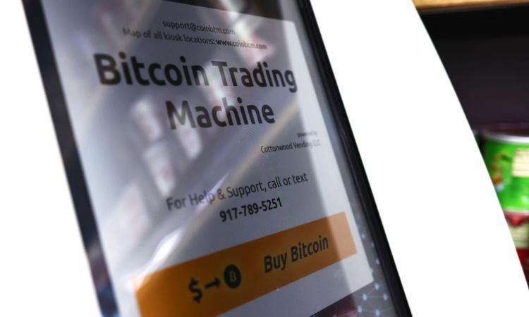 Una trading machine dei Bitcoin