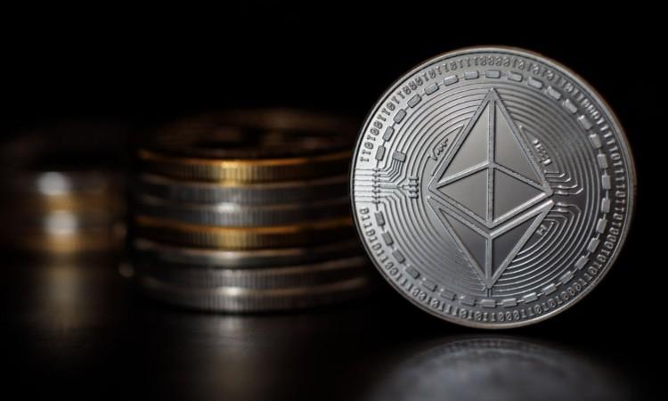 La token di Ethereum in primo pianp