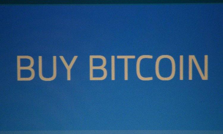 Una scritta inerente ai Bitcoin