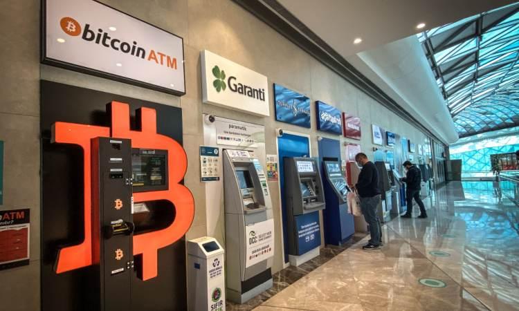 Uno sportello automatico targato Bitcoin