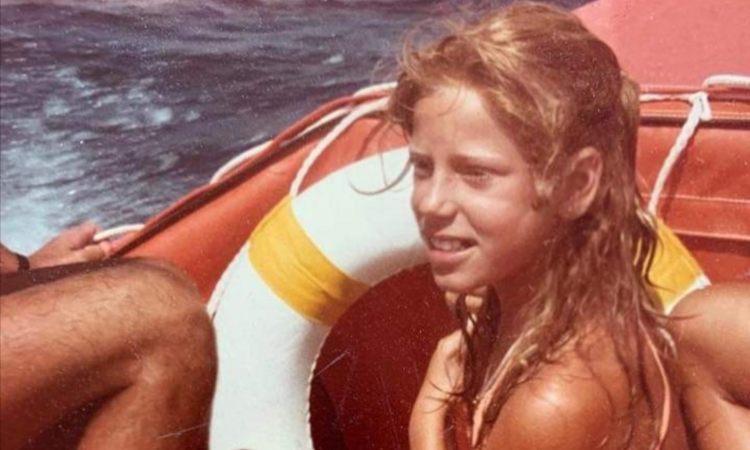 Alessia Marcuzzi piccola mare